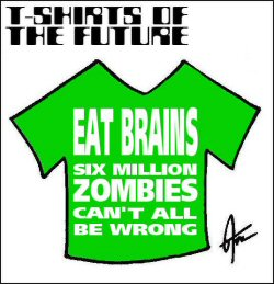 T-shirt - zombies small